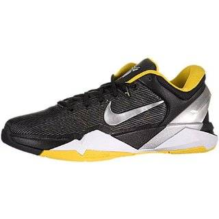 Nike Kobe VII 7 GS Black Yellow Silver 2012 Youth Basketball Shoes