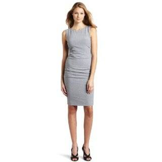 Nicole Miller Womens Scuba Twill Dress Clothing