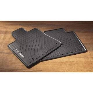 Toyota Tundra TRD All Weather Black Floor mats 2007 2008