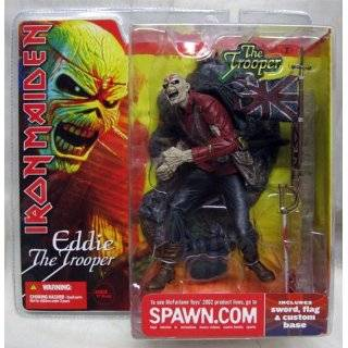Iron Maiden Eddie the Trooper McFarlane Spawn Action Figure