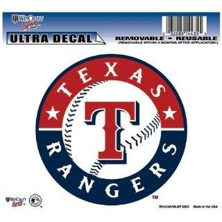 Texas Rangers Auto Car Wall Decal Sticker Vinyl