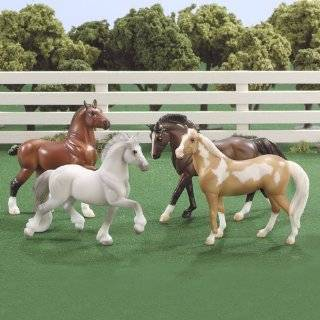 Breyer Stablemates Pick   Up Truck and Gooseneck Trailer Toys & Games