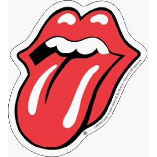 Rolling Stones   Classic Tongue Logo   Sticker / Decal