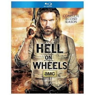 Hell on Wheels The Complete Second Season Blu ray Disc, 2013, 3 Disc Set