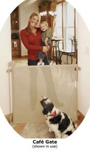 New Retractable Safety Gate Baby Dog Child Pet