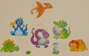 Nursery Childrens Kids Boys Girl Bedroom Dinosaur Wall Furniture Stickers Decals