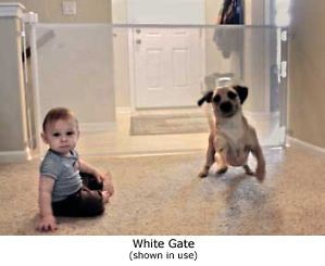 Wide Retractable Baby Gate Safety Dog Child Pet New