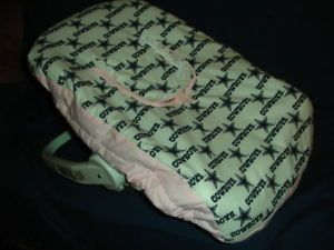 Pink Baby Car Seat Carrier Cover w Dallas Cowboys NFL