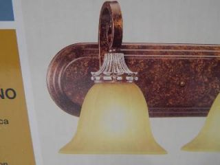 Hampton Bay 262294 4 Light Vanity Bath Bar Fixture Oxide Brass 25163