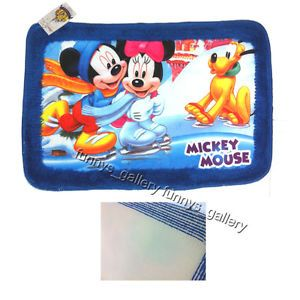 New Mickey Minnie Mouse Pluto Bathroom Home Area Rug Mat Carpet