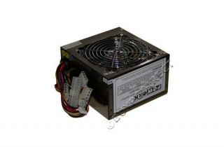 New 600W Power Supply Quiet LED Fan 24 Pin SATA Black