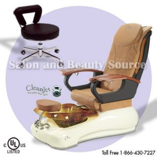 Pedicure Unit Foot Pedi Spa Chair Gulfstream La Fleur 1