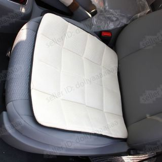 New 1pc Bamboo Charcoal Auto Car Office Chair Seat Cover Chair Pad Mat Beige