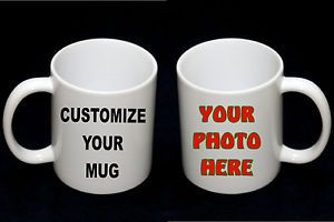 Custom Ceramic Photo Coffee Mugs 11oz Personalized Mug