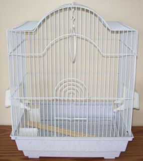 Dometop Tiel Bird Cage White Vein Wedding Cardholder If Desired