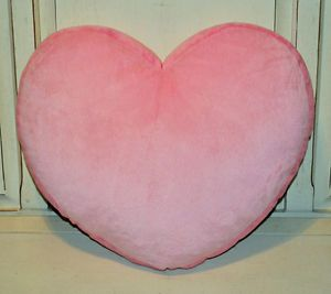 Circo Pink Heart Soft Plush Decorative Toss Pillow New Girls Hearts Bedding