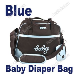 Style Multi Function Extra Large Baby Diaper Nappy Changing Bag 4pcs