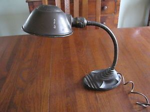 Vintage Eagle Adjustable Gooseneck Desk Lamp Industrial Lamp Art Deco