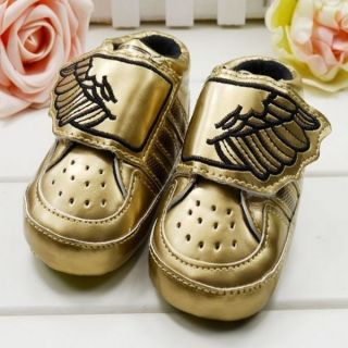 Cute Kid Baby Boys Soft Sole Crib Wing Sneaker Shoes Infant Toddler Sneakers