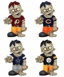 Officially Licensed NFL Zombie Decorative Garden Gnome Figure Statue All Teams