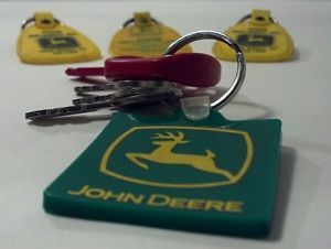 Vtg John Deere Lawn Mower Equipment Garden Tractor Master Key Lot Tool Box Fob
