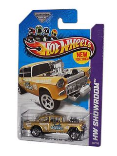 Hot Wheels 1955 Chevy Bel Air Gasser Diecast Car