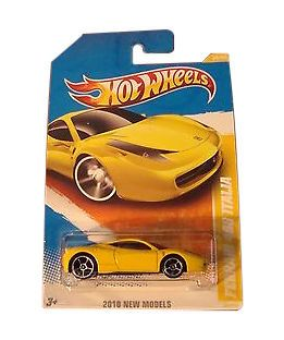 Hot Wheels Ferrari 458 Italia Diecast Car