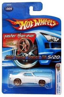 Hot Wheels 1969 Pontiac Firebird Diecast Car