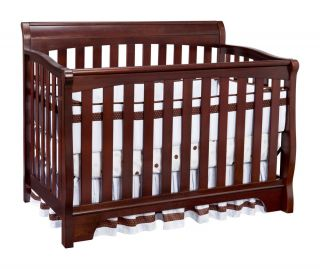 Delta Children's Products Eclipse 4 in 1 Convertible Crib Black Cherry Wood
