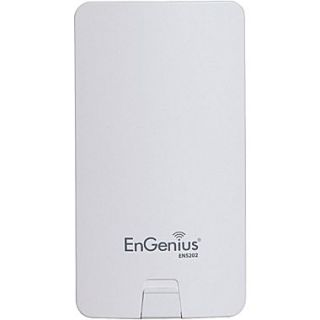 EnGenius ENS202 High Powered Long Range Wireless N300 Outdoor Client Bridge, 2.4GHz