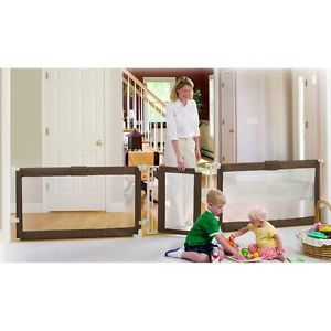 Extra Wide Adjustable Pet Baby Free Standing Play Yard Barrier Dog Gate