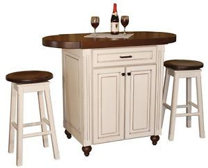 3 PC Pub Table Chairs Set Kitchen Island Snack Bar Height High Counter Stools