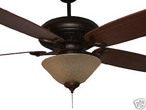 Monte Carlo DC60 Ceiling Fan with Light Kit 5DCR60TB
