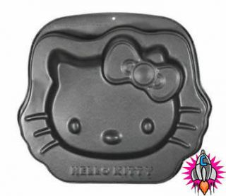 New Official Hello Kitty Metallic Cake Baking Tray Birthday Cooking