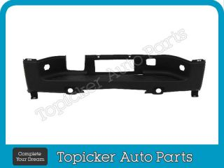 2007 2012 Silverado GMC Sierra Rear Step Bumper Center Pad with Sensor Hole