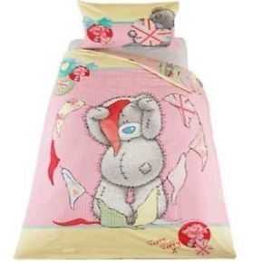 Me to You Tatty Teddy Bunting Single Panel Duvet Set Quilt Cover Bedding 331122