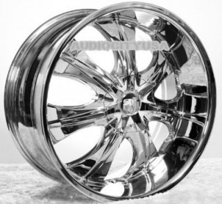 "26"" VC725 Wheels Rims for Chevy Tahoe Escalade Silverado RAM Yukon Ford 1pc"