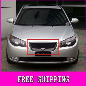 New Front Hood Radiator Grill Roadruns Unpainted for Hyundai 07 10 Elantra HD