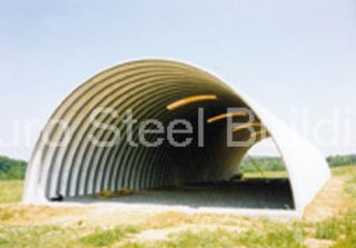 Duro Span Steel Q30X50X14 Metal Building Kits Factory Direct Quonset Farm Barn