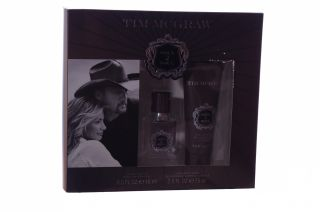 Tim McGraw Mens Soul 2 Soul Cologne Hair Body Wash Fathers Day Gift Set Box New