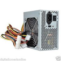 Logisys 550W 20 4 Pin ATX Power Supply w SATA 120mm Ball Bearing Cooling Fan