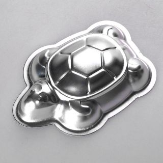 3 45'' 3D Turtle Cake Chocolate Jello Pan Tin Baking Mold Mould Deocrating Tool