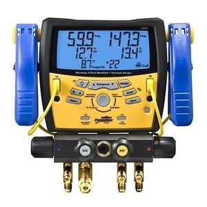 Fieldpiece SMAN4 Digital 4 Port Refrigerant Wireless Digitial Manifold Gauge
