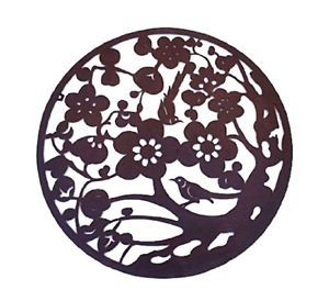 Tree of Life Rustic Metal Wall Art Home Decor Garden Decor Metal Wall Sculptures