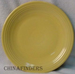 Homer Laughlin China Fiesta Contemporary Yellow Chop Plate Round Platter 11 3 4""