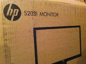 "HP S2031 HDMI 20"" VGA DVI D HDCP High Resolution Widescreen 1080p Monitor"
