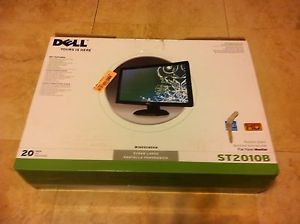 "Dell ST2010B 20"" Widescreen Flat Panel LCD PC Monitor 1600x900"