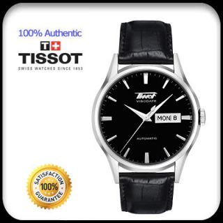 Tissot Watch for Men Automatic Movement Black Leather T019 430 16 051 01