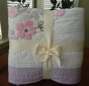 Pottery Barn Kids Baby Gabrielle Nursery Bedding Set Quilt Crib Skirt Sham