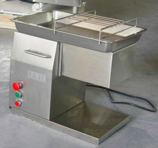Commercial Kitchen Automatic Meat Cutting Machine Cutter Dicer Slicer 1 Blade